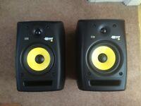 KRK Rokit 6 GP2 (Pair) + Speaker Stands