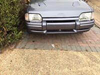 Ford Escort Cabriolet MK4 Uncompleted project car