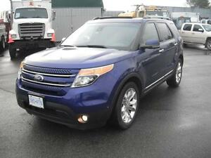 2013 Ford Explorer Limited 4WD 7 Passenger