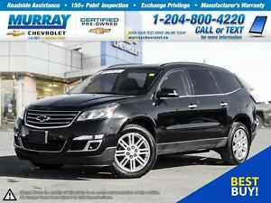 2015 Chevrolet Traverse LT 1LT *Heated Seats, Remote Start, Rear