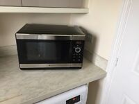 Hotpoint Microwave Oven with Grill - Over 1 Year Warranty left