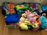 Toys, Shoes, clothes bundle.