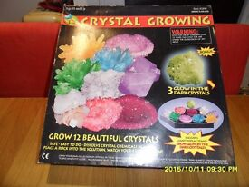 Crystal Growing Set - Brand New in Box never used