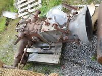 Gearbox and back end for TED20 Tractor.