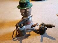 Tilley lamp & 2 brass blow torches
