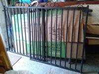"""Garden wrought iron gates 40"""" x 45"""""""