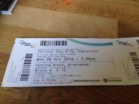 Four Tops & The Temptations tickets
