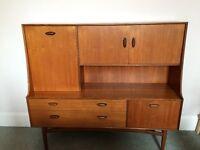 Vintage G-Plan Teak High Sideboard/Drinks Cabinet (circa 1952-1965)