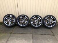 Set of 4 BMW 19 inch alloys