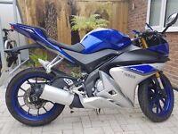Yamaha YZF R125 2015