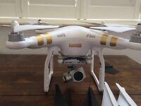 DJI phantom 3 4K camera drone