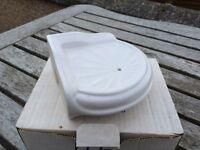 Corner soap dish for shower/bath - Heritage range