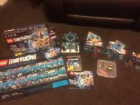 PLAYSTATION PS3 LEGO DIMENSIONS INCLUDES 16 FIGURES/VEHICLES