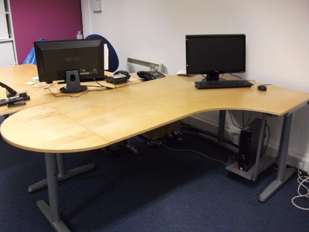 Ikea Desks - Beech effect