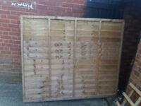 6' x 5' Fence panel