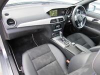 Mercedes-Benz C Class C220 CDI AMG SPORT EDITION PREMIUM PLUS (silver) 2014-03-28