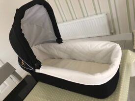 Out and about nipper carrycot