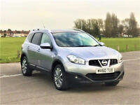 7 Seater -- 2010 Nissan Qashqai +2 Tekna 1.5 dCi -- Navigation -- LEATHER -- Pan Roof -- Rear CAMERA