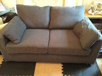 Grey Double Sofa Bed