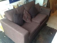 Brown Double Sofa Bed