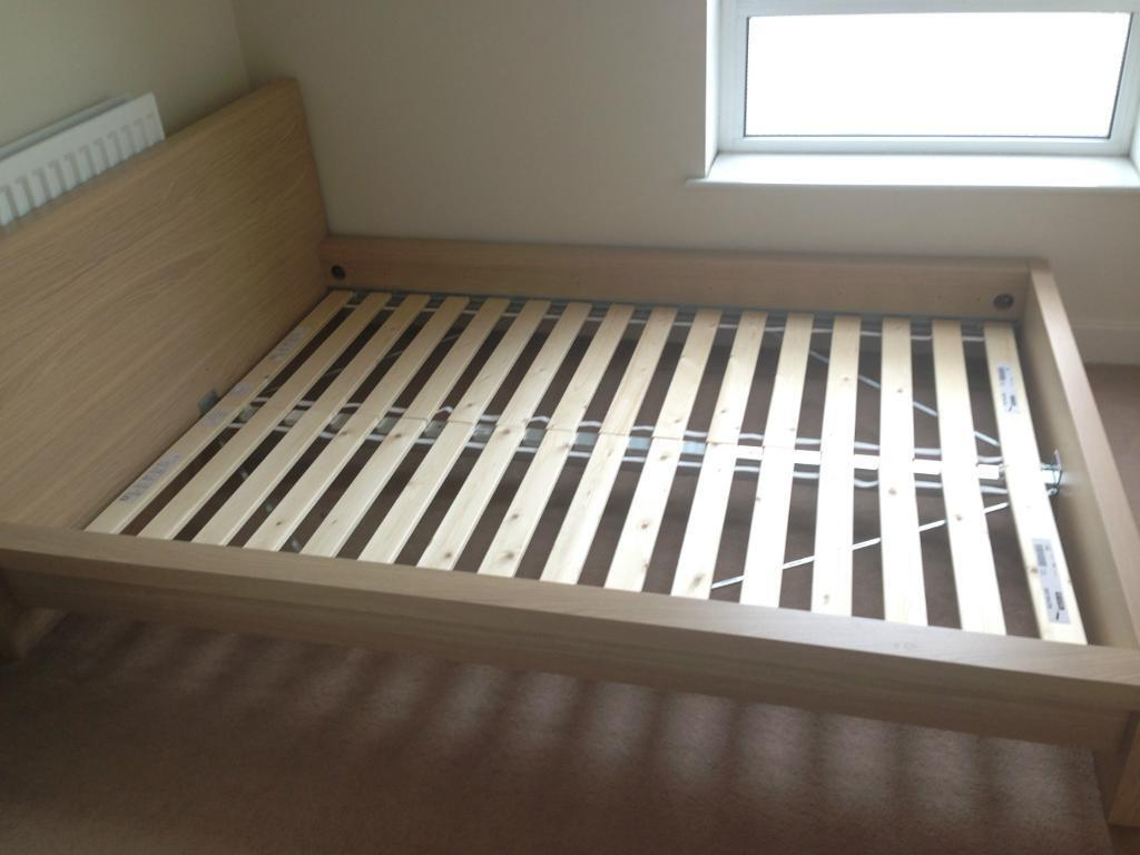 Malm Ikea Bed Frame And Chest Of Drawers In Greenwich London Gumtree