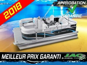 2018 Legend Boats Ponton Splash Plus, Mercury 25 ELPT Bateau pêc