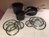 Kirkland signature seven piece cookware set