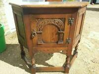 Old charm furniture table cupboard