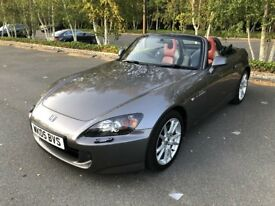 2005 Honda S2000 - Moonrock Grey / Red and Black Interior / Low Mileage Excellent Condition