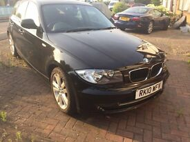 BMW 118D FOR SALE, 2010, MANUAL, DIESEL, 60,000 MILES, MOT UNTIL MAY 2018