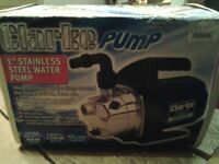 Water Pump by Clarke Stainless