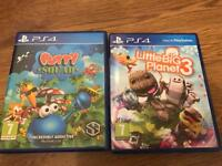 Little big planet and putty squad for PS4