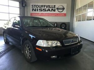 2001 Volvo S40 A Power Sunroof and Leather Seats