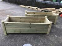 Garden planters Handmade prices vary upon size