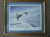Two Authentic Aviation Art Prints