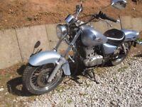 Suzuki Marauder K6 125cc cruser motorbike