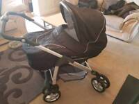 Silver cross linear freeway pram in good condition