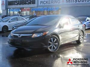 2012 Honda Civic Bluetooth, Sunroof, Alloy Wheels, Tint