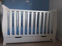 Obaby Stamford Classic Sleigh Cot bed