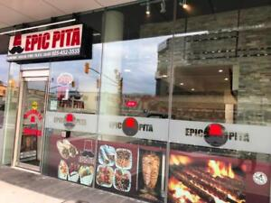 Epic Pita Downtown Brampton - Business For Sale