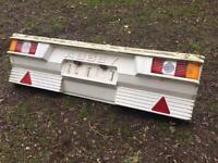 Abbey gt 415 rear panel & lights
