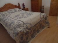 Furnished modern double room, for one person, in 3 bd detached bungalow, Balloch Inverness.