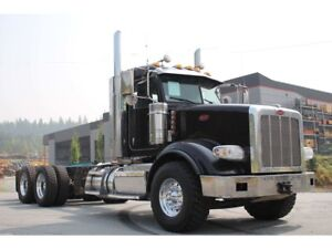 2015 Peterbilt 367 Extended Daycab, 18 Spd, Double Frame, Leat..