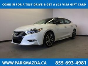 2017 Nissan Maxima SL FWD - Bluetooth, NAV, Remote Start, Backup