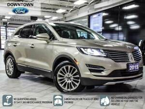 2015 Lincoln MKC Pano Roof, Navi, Heated Steering Wheel, Car Pro