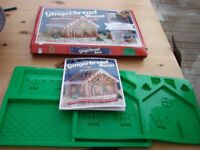 Easy to make Gingerbread House Kit. BNIB. Never used. Great fun, complete with book. £4 Torquay