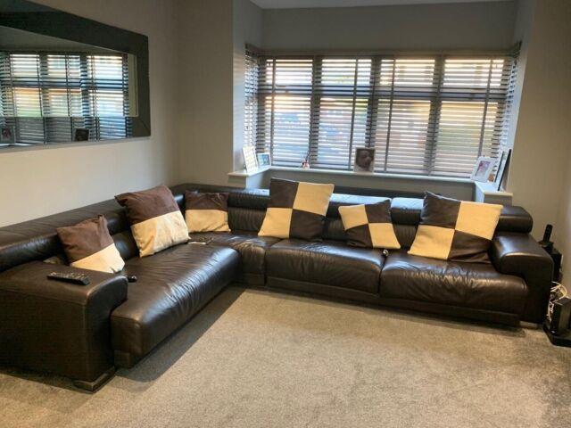 Super Fci Designer Electric Leather Sofa In Stockport Manchester Gumtree Frankydiablos Diy Chair Ideas Frankydiabloscom