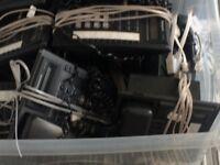 Full set up of Panasonic phones
