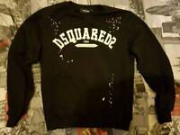 dsquared2 jumper and t-shirt size medium