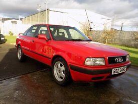 Audi 80. Recently refurbished. MOT October 2017